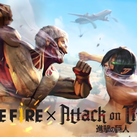 Attack on Titan Free Fire crossover skins battle royale anime