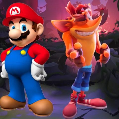Crash Bandicoot 4_ Ya puedes jugar como Mario Bros. gracias a este mod (3)