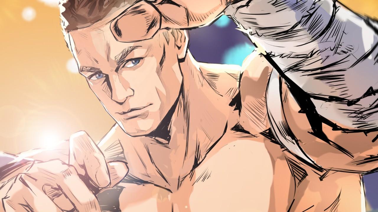 crunchyroll john cena anime luchador wwe
