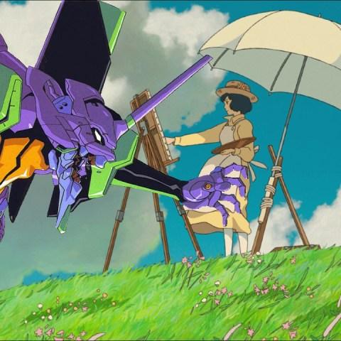 Evangelion Fanart Studio Ghibli
