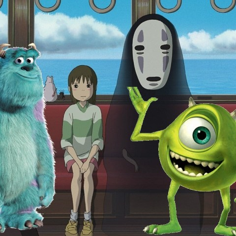 Studio Ghibli Pixar Fans
