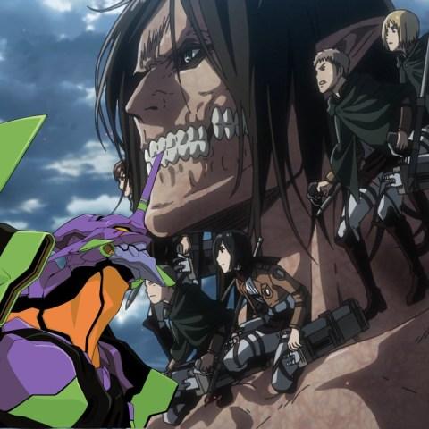 Attack on Titan Anime EVA Evangelion