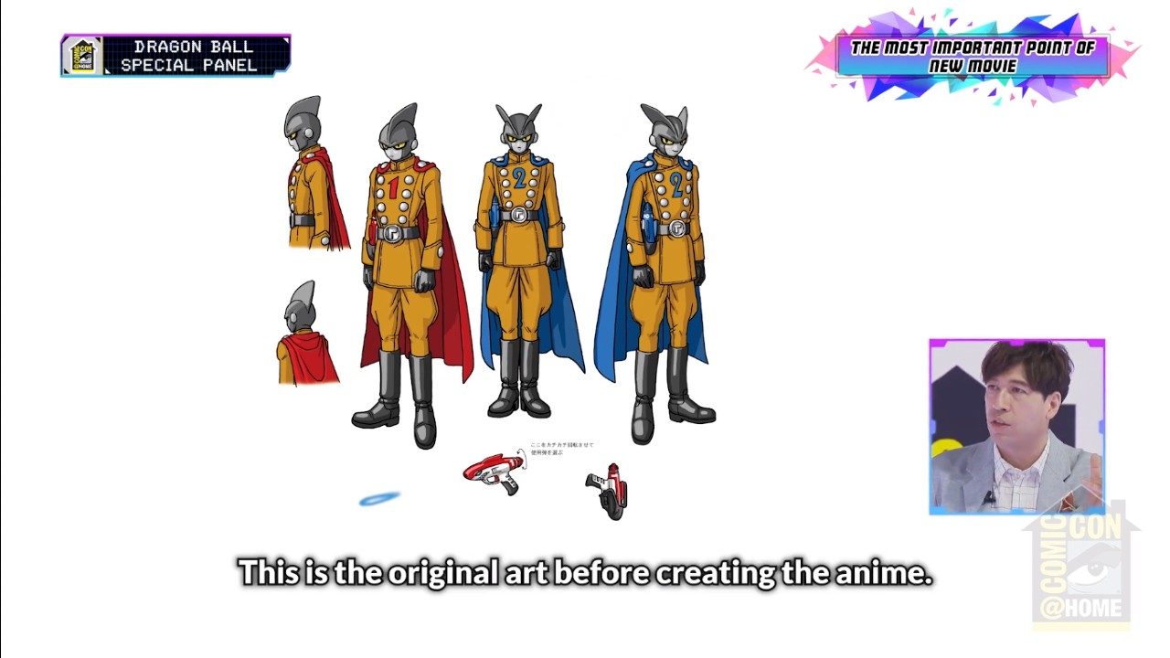 Personajes de Dragon Ball Super Super Hero