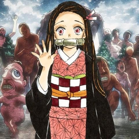 Attack on Titan anime Nezuko Kamado