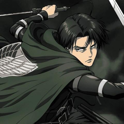 Levi Ackerman personajes de Shingeki no Kyojin cosplay