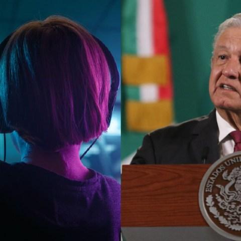 AMLO violencia en los videojuegos en México