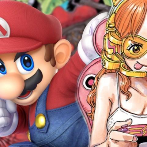 One Piece x Super Smash Bros Utimate ilustración