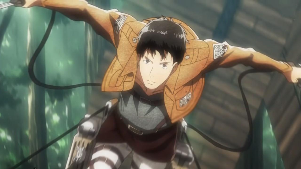 Attack on Titan top reclutas - Bertolt