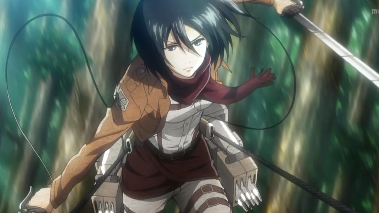 Attack on Titan top reclutas - Mikasa