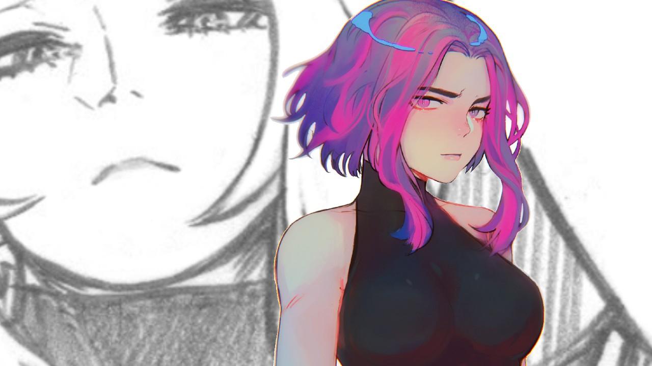My Hero Academia sketch Lady Nagant
