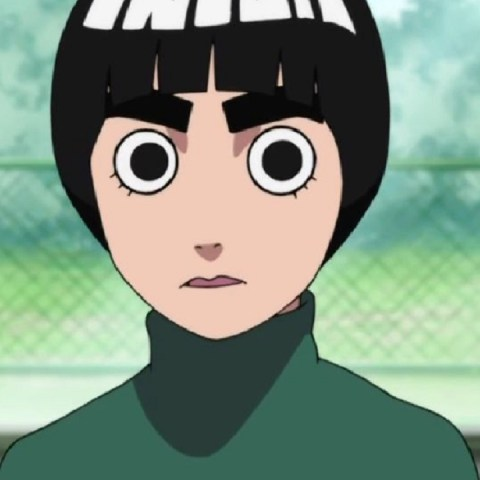 Rock Lee Naruto Inteligencia Artificial fanart