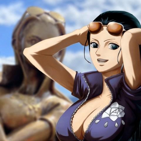 Estatua de Nico Robin de One Piece