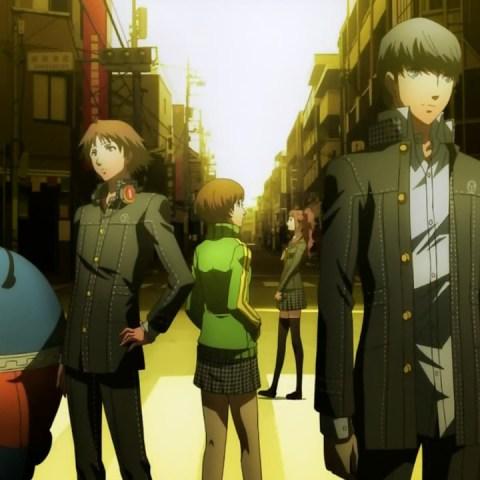 Persona 4 Funimation Anime