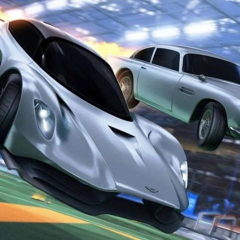 Rocket League autos 007 James Bond