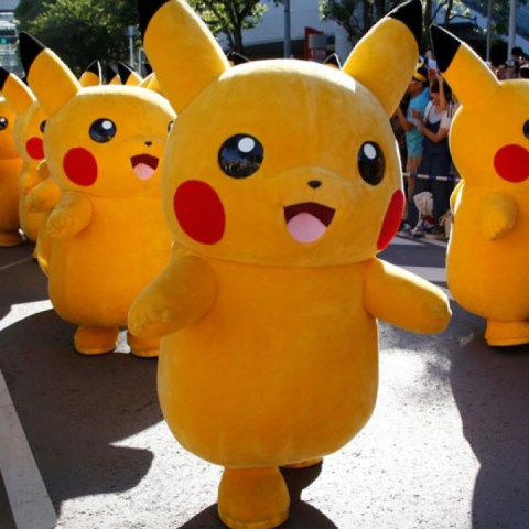 desfile pikachu universal studios pokémon