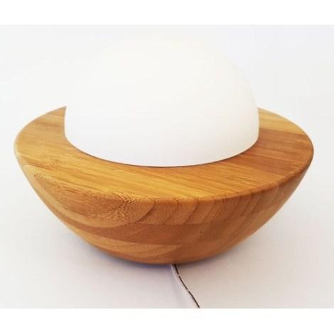 Diffuseur Éléa huile essentielle en bambou et verre