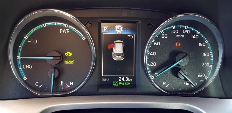 Tacometro - Toyota RAV4 Hybrid Advance 2WD
