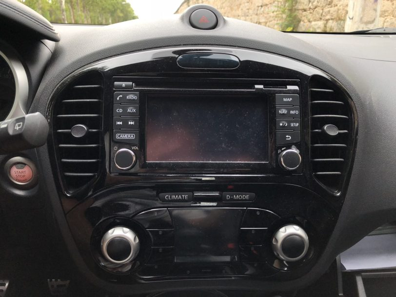 IMG 1171 - Nissan Juke, con altavoces Bose ® de serie