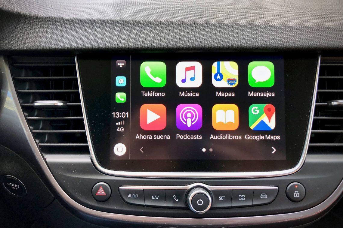 Apple CarPlay 1140x760 - Opel Crossland X Innovation 1.5 ECOTECD 102 CV