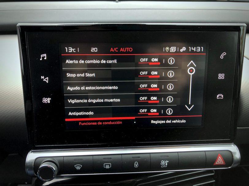 Ayudas a la conduccio%CC%81n - Citroën C4 Cactus