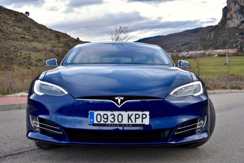 Frontal 2 - Tesla Model S 100D y nuestro viaje de 1.000 km