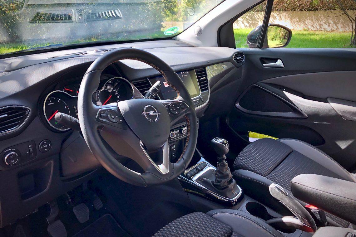 Interior 1140x760 - Opel Crossland X Innovation 1.5 ECOTECD 102 CV