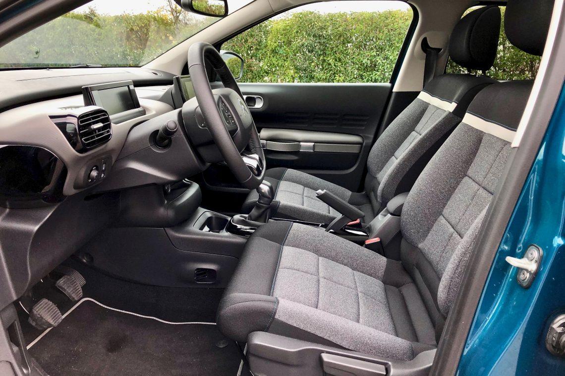 Plazas delanteras 3 1140x760 - Citroën C4 Cactus