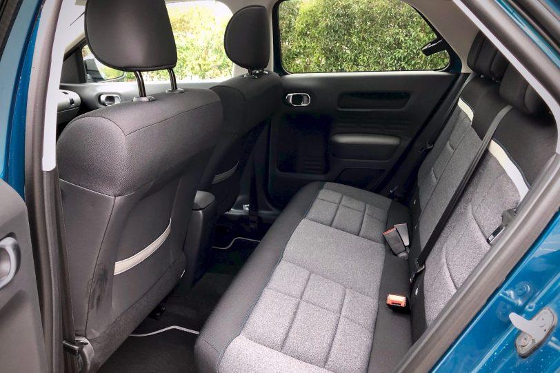 Plazas traseras 4 1140x760 - Citroën C4 Cactus