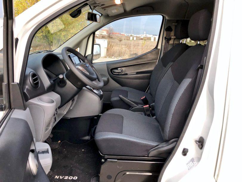 Interior lateral Izquierdo e nv200 - Nissan e-NV200 7 plazas 40 kWh de capacidad