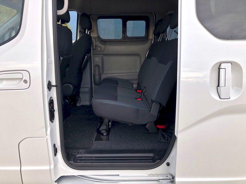 Plazas traseras e nv200 - Nissan e-NV200 7 plazas 40 kWh de capacidad