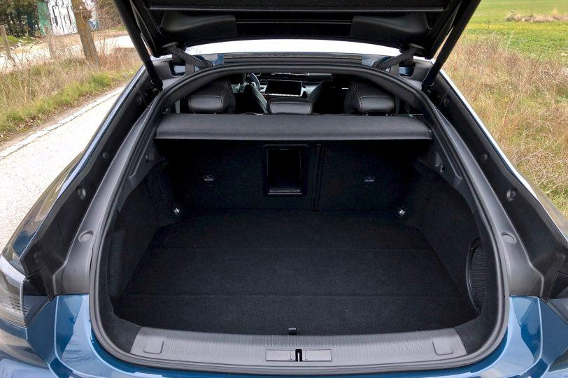 Maletero 5 plazas Peugeot 508 GT 2 1140x760 - Peugeot 508 GT: Viene para quedarse