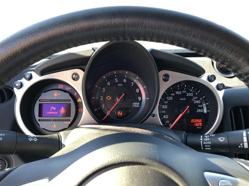 Taco%CC%81metro 370z - Nissan 370z GT roadster con 328 CV y cambio manual
