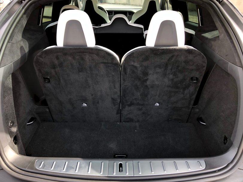 Maletero con 7 plazas Tesla Model X 100D - Tesla model X 100D: No es cualquier SUV
