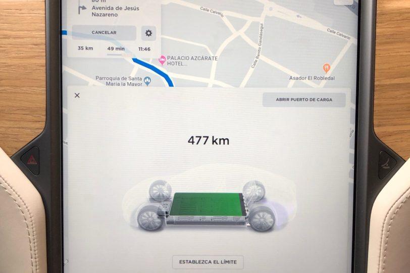 Pantalla 14 1260x840 - Tesla Model S 100D y nuestro viaje de 1.000 km