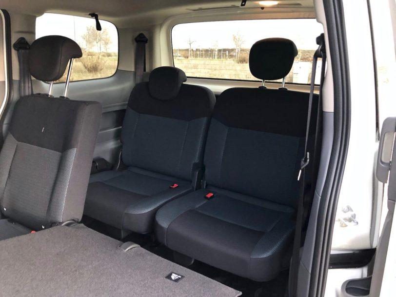 Plazas traseras maletero e nv200 evalia 1260x945 - Nissan e-NV200 7 plazas 40 kWh de capacidad