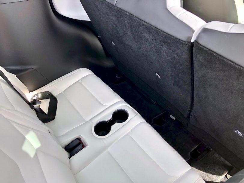 Tercera filas de asientos Tesla Model X 100D - Tesla model X 100D: No es cualquier SUV