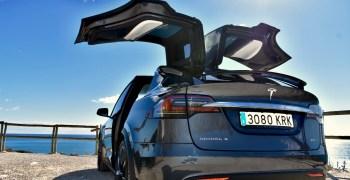 Trasera Izquierda Tesla Model X 100D - inicio
