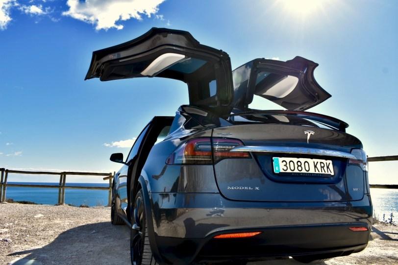 Trasera Izquierda Tesla Model X 100D - Tesla model X 100D: No es cualquier SUV
