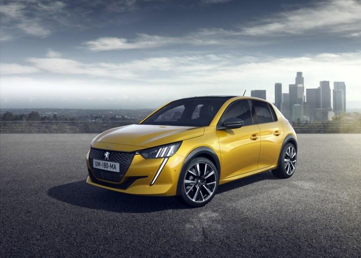 Frontal Izquierdo Peugeot 208 - Nuevo Peuegot 208: Nuevo diseño, aspecto interior y ahora también un coche eléctrico