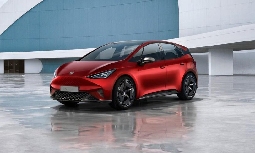 Frontal Izquierdo Seat el Born - SEAT el-Born Concept con 204 CV y 420 km de autonomía. ¿Es el futuro de SEAT?