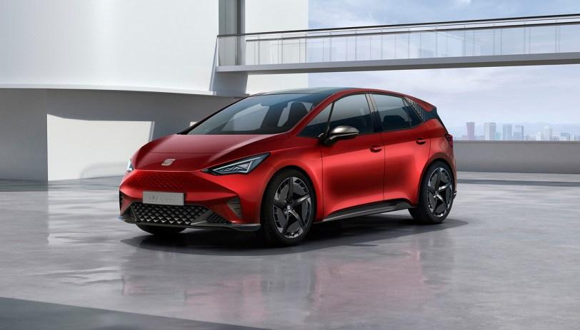 Frontal Izquierdo - SEAT el-Born Concept con 204 CV y 420 km de autonomía. ¿Es el futuro de SEAT?