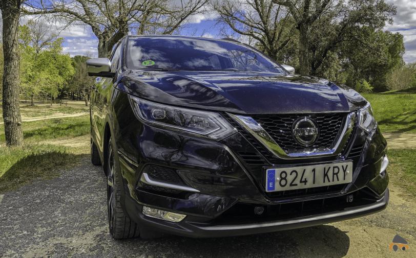 Frontal derecho Nissan Qashqai - Nissan Qashqai 2019: Ahora con un motor ya visto en Mercedes