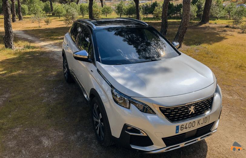 Frontal derecho elevado Peugeot 3008 - Peugeot 3008 GT BLUEHDI 180 CV
