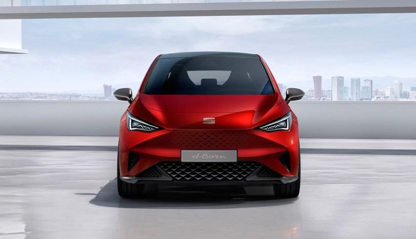 Frontal el Born - SEAT el-Born Concept con 204 CV y 420 km de autonomía. ¿Es el futuro de SEAT?