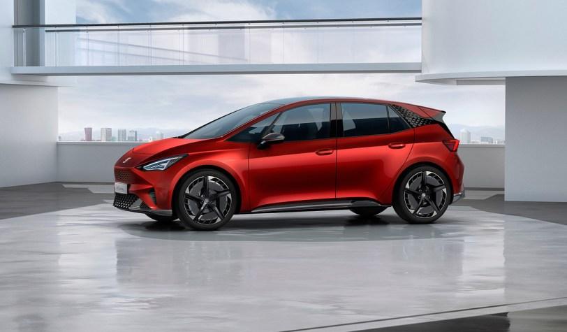Lateral Izquierdo Seat el Born - SEAT el-Born Concept con 204 CV y 420 km de autonomía. ¿Es el futuro de SEAT?