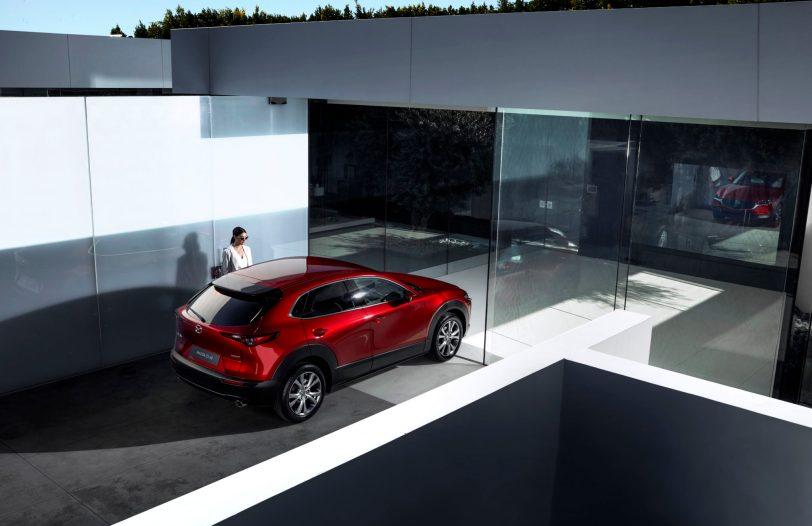 Mazda CX 30 at 2019GIMS 3 - Mazda completa su gama con el nuevo Mazda CX-30