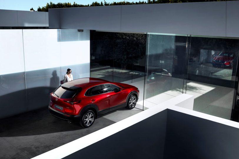 Mazda CX 30 at 2019GIMS 3 1260x840 - Mazda completa su gama con el nuevo Mazda CX-30