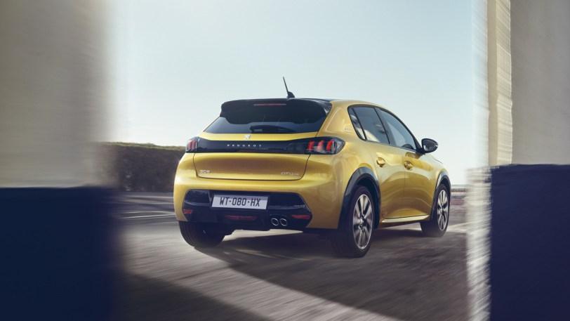 Trasera derecha Peugeot 208 - Nuevo Peuegot 208: Nuevo diseño, aspecto interior y ahora también un coche eléctrico