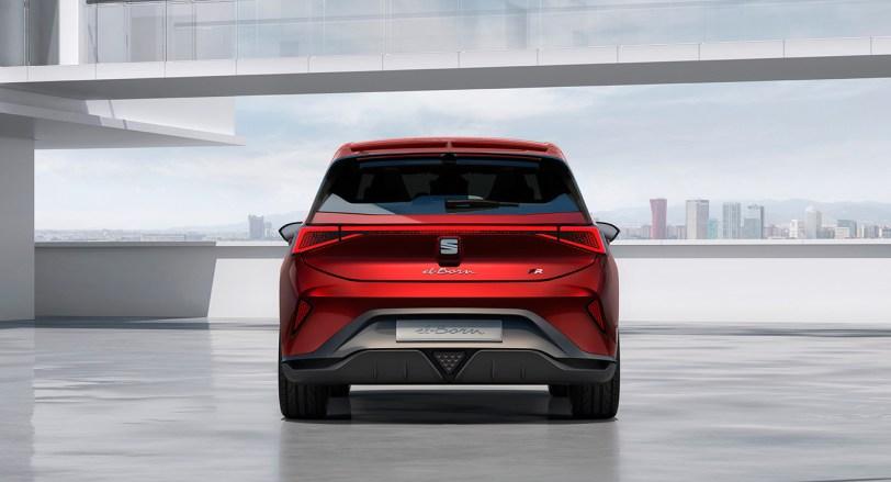 Trasera el Born - SEAT el-Born Concept con 204 CV y 420 km de autonomía. ¿Es el futuro de SEAT?