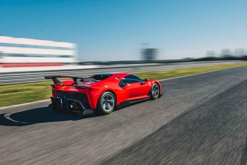 ferrari p80c 2019 0319 014 1260x840 - Ferrari P80/C: el coche más radical y exclusivo de Ferrari